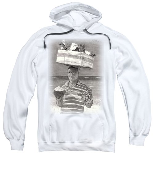 Island Street Vendor Sweatshirt by Tom Podsednik