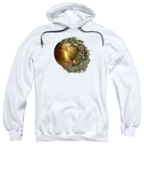 No Such Thing As Elves Sweatshirt by Susan Capuano