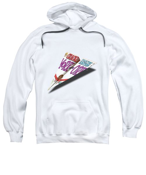 1979, May Cracked Mad Paper Airplanes Sweatshirt