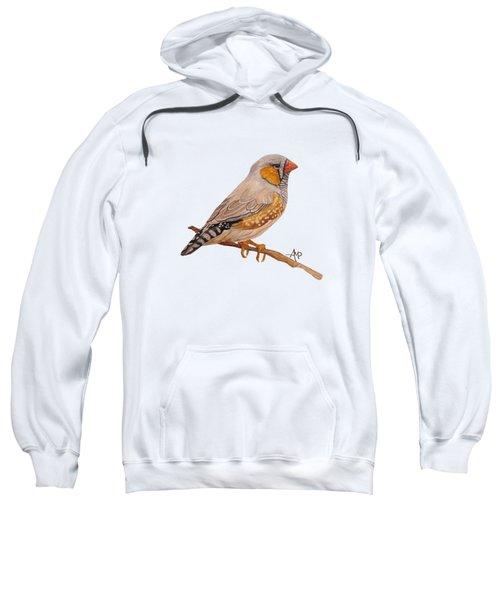 Zebra Finch Sweatshirt