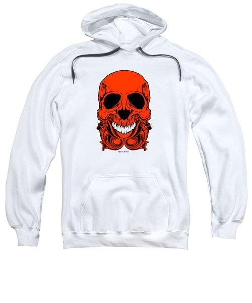 Red Skull  Sweatshirt