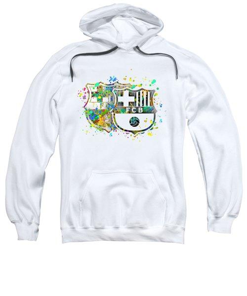 Tribute To F C Barcelona 7 Sweatshirt by Alberto RuiZ
