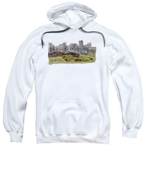 Castle Ward Sweatshirt by Angeles M Pomata