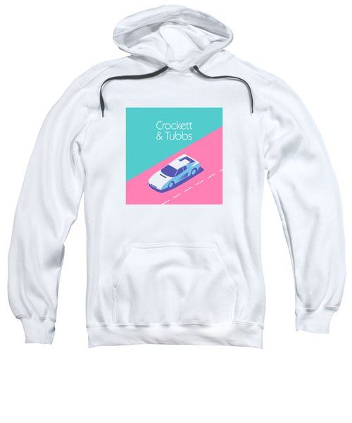 Crockett And Tubbs Retro 80s Sweatshirt