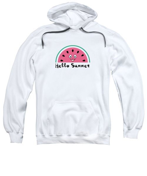 Sweet Watermelons Sweatshirt by Alina Krysko