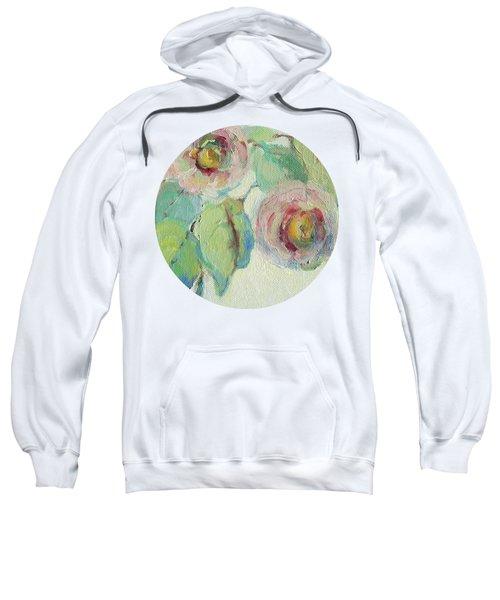 Impressionist Roses  Sweatshirt