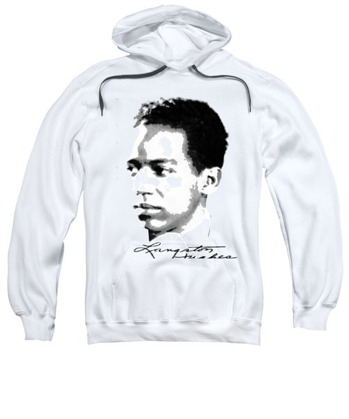 Langston Hughes Sweatshirt by Asok Mukhopadhyay