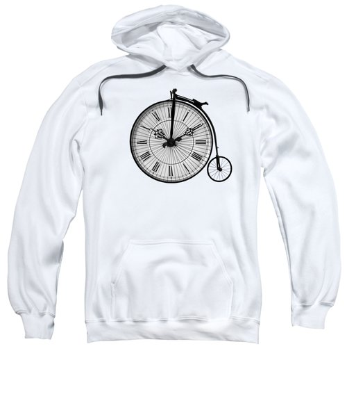 Time To Ride Penny Farthing Sweatshirt