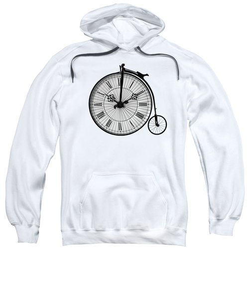 Time To Ride Penny Farthing Sweatshirt