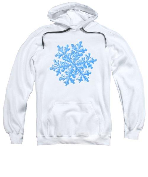 Snowflake Vector - Hyperion White Sweatshirt