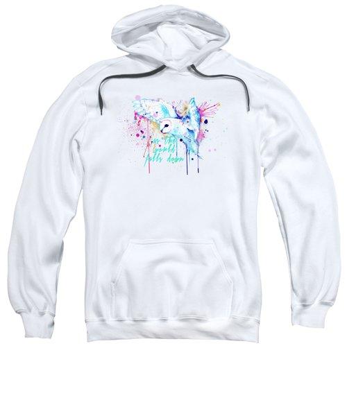 Rainbow Barn Owl Labyrinth Variant Sweatshirt