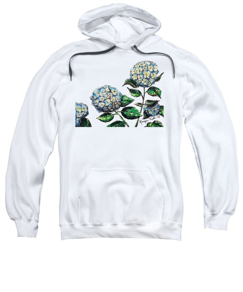 Hydrangeas Sweatshirt