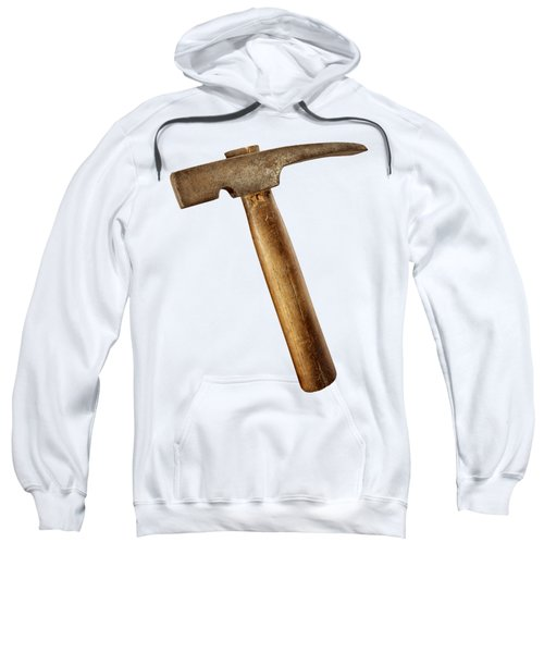 Antique Plumb Masonry Hammer On Color Paper Sweatshirt