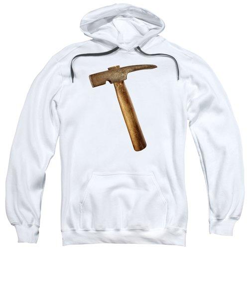 Antique Plumb Masonry Hammer On Color Paper Sweatshirt