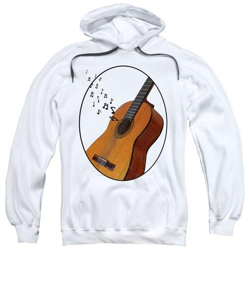 Acoustic Guitar Sounds Sweatshirt