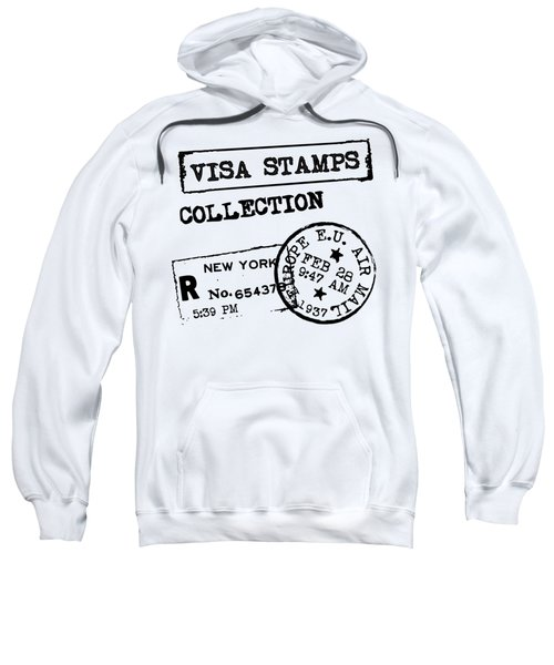 Sweatshirt featuring the digital art Astral Traveler by ReInVintaged