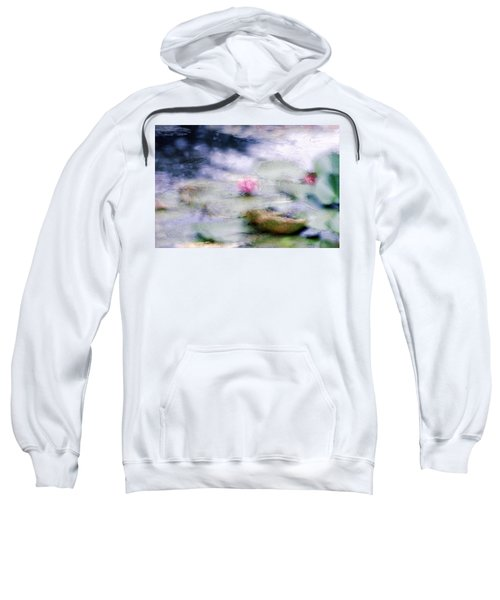 At Claude Monet's Water Garden 12 Sweatshirt