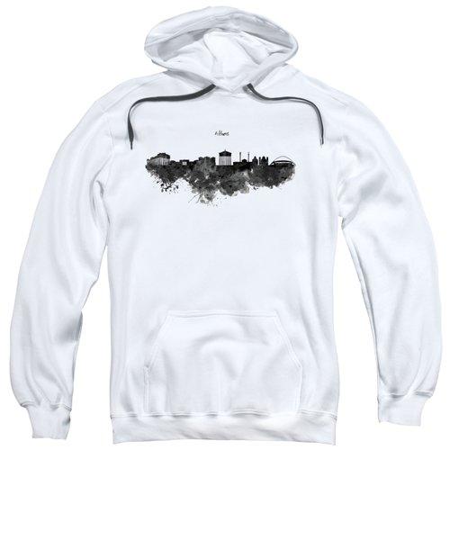 Athens Black And White Skyline Sweatshirt