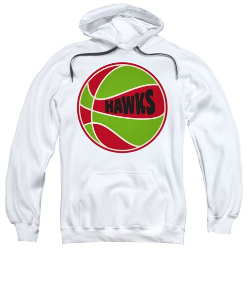 Atlanta Hawks Retro Shirt Sweatshirt by Joe Hamilton