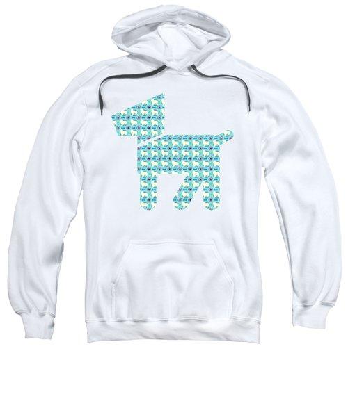 Aussie Dog Pattern Sweatshirt