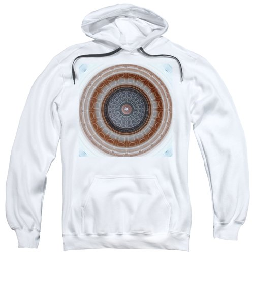 Austin Capitol Dome In Gray And Brown Sweatshirt