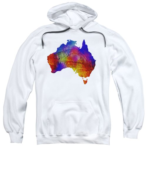 Australia And Sydney Harbour Bridge By Kaye Menner Sweatshirt