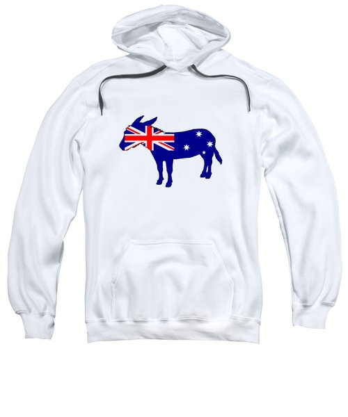 Australian Flag - Donkey Sweatshirt by Mordax Furittus