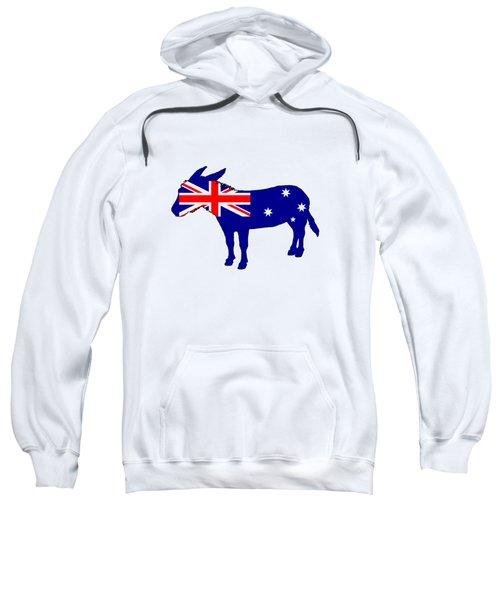 Australian Flag - Donkey Sweatshirt