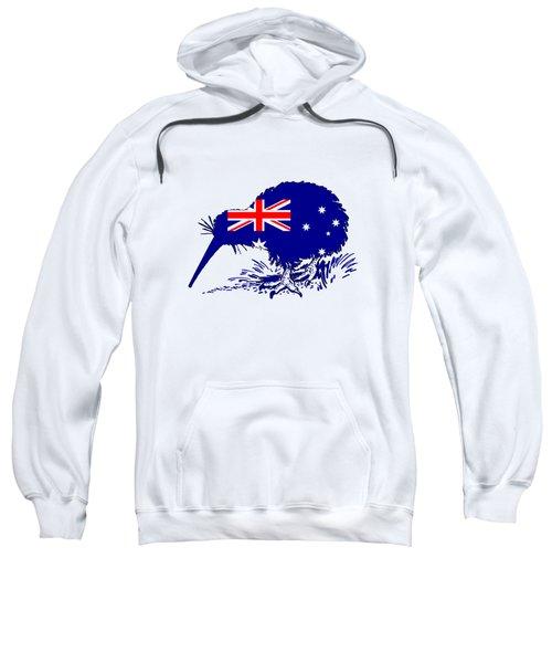Australian Flag - Kiwi Bird Sweatshirt