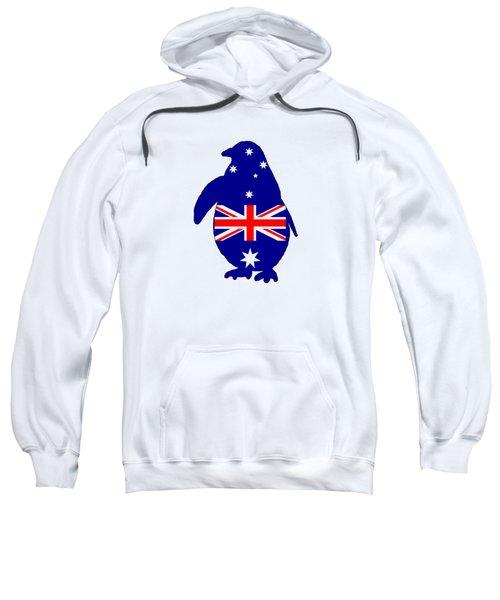 Australian Flag - Penguin Sweatshirt