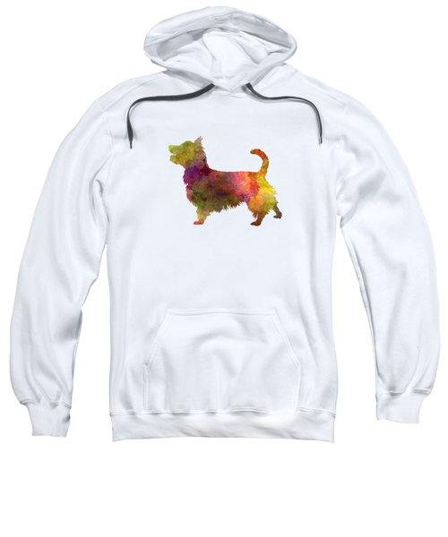Australian Terrier In Watercolor Sweatshirt