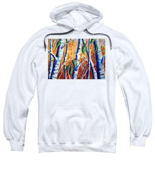 Autumn Birch Sweatshirt