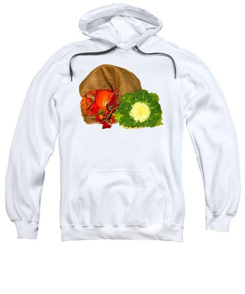 Autumn Display Expressionist Effect Sweatshirt