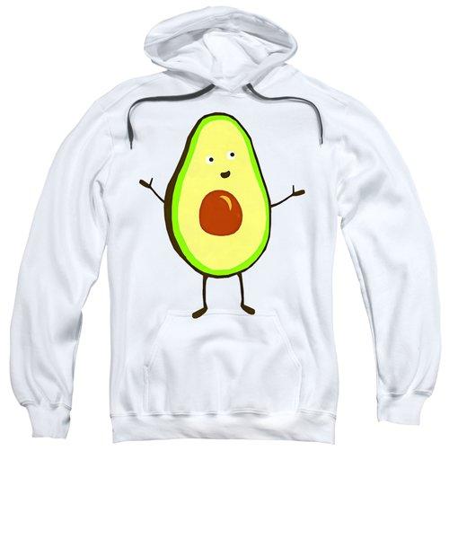 Avocado Fruit Sweatshirt