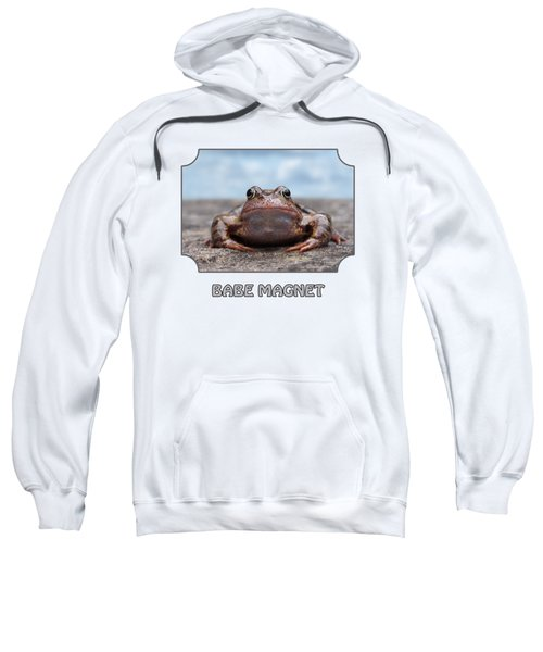Babe Magnet - Blues Sweatshirt by Gill Billington