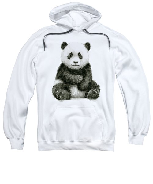 Baby Panda Watercolor Sweatshirt