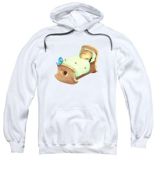 Baby Teddy Sweet Dreams Sweatshirt by Linda Lindall