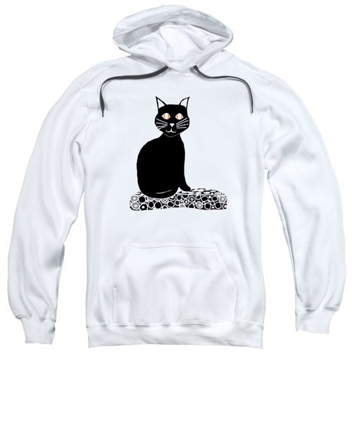 Background Choice Black Cat Sweatshirt