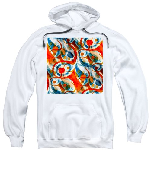 Background Choice Coffee Time Abstract Sweatshirt