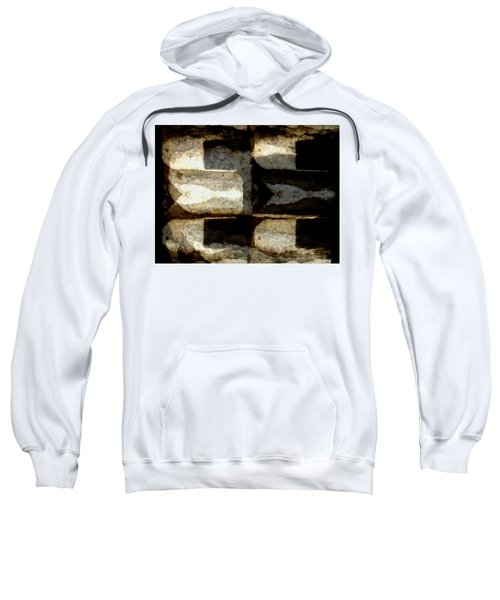 Colour Choice Stone Abstract Sweatshirt