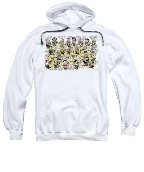 Bad Guys Watch Out Sweatshirt