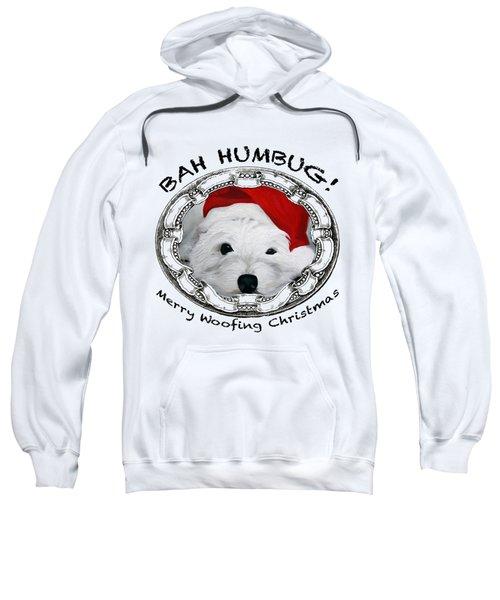 Bah Humbug Merry Woofing Christmas Sweatshirt