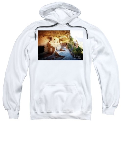 Sweatshirt featuring the photograph Balcony House by Scott Kemper