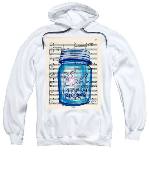 Ball Mason Jar Classical #168 Sweatshirt