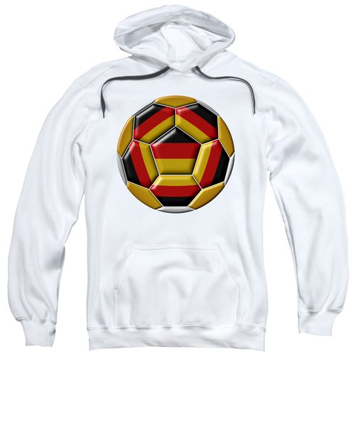 Ball With Germany Flag Sweatshirt