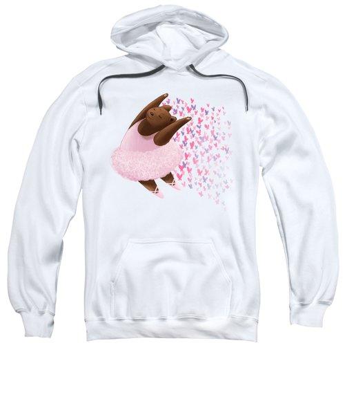 Ballet Bear Sweatshirt