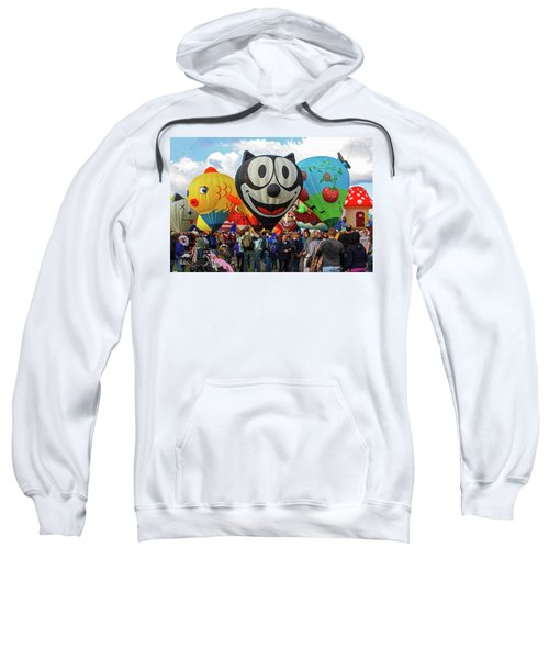 Balloon Fiesta Albuquerque II Sweatshirt
