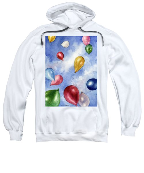 Balloons In Flight Sweatshirt