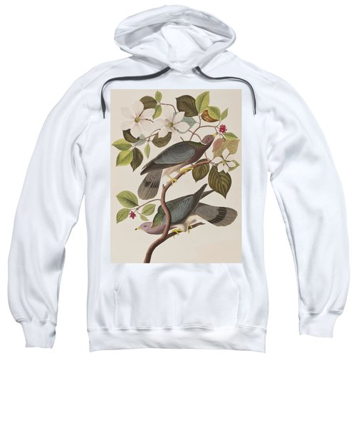 Band-tailed Pigeon  Sweatshirt by John James Audubon