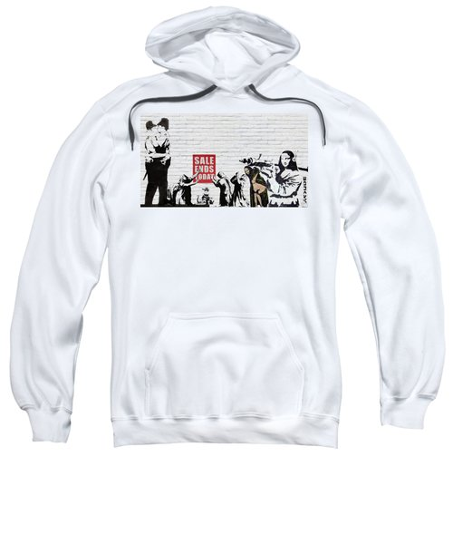 Banksy - Saints And Sinners   Sweatshirt